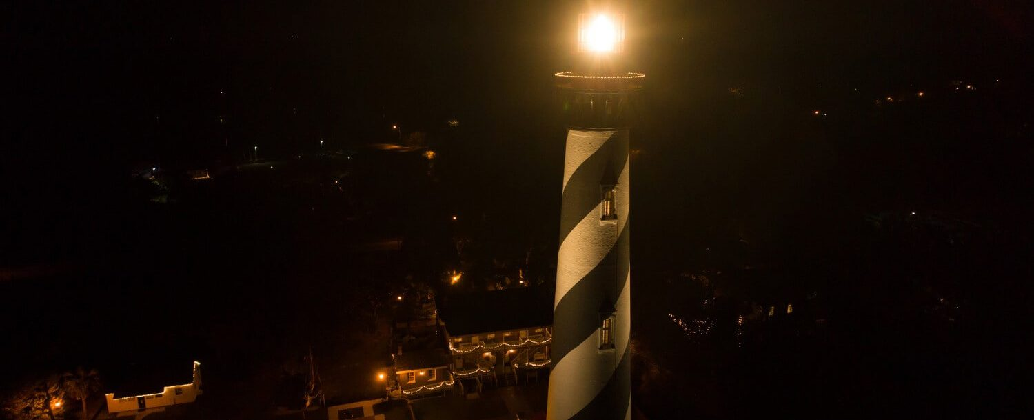 see ghostly apparitions when you visit the haunted st augustine lighthouse