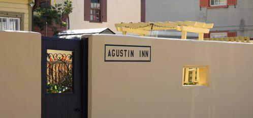agustin inn courtyard