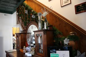 holiday decor at agustin inn christmas in st. augustine