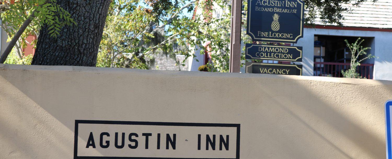 front of augustin inn